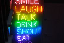 • Cool neon signs and random pictures ♡