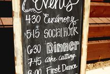 Wedding: Events of the wedding day