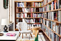 Bookshelves / Bookshelf images, inspiration and decor ideas to create the perfect shelving space in your home.