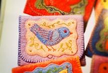 lana, bordado y costura/ yarn, embroidery and sewing