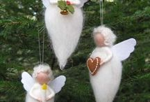 angels + birds + hearts / handmade