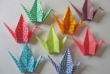 Origami Birds - Cranes, Swans etc... / diagrams etc...