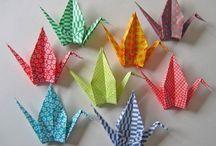 Origami Birds - Cranes, Swans etc... / diagrams etc... / by Nut Smith