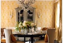 Dining Room / by Nicki Woo - The Home Guru / Nicole T. Woodard