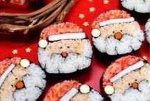 Sushi Chritmas!!