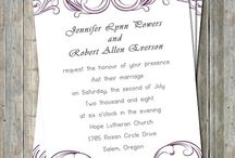 wedding extras / center pieces, invites, decorations, and etc.. / by Angela Bardini