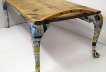 re-purposed design/ recycling furniture