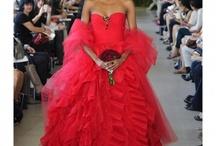 Wedding Dress : R E D