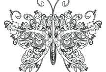 fjärilar och andra fän