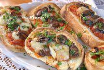 Bruschette e crostini