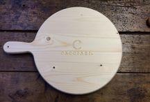 Taglieri in Legno - Cacciari's Londra / Taglieri artigianali in legno - Li potete trovare su www.spotpromo.it