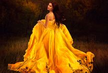 BELLE / Golden Yellows, fit for a Princess