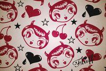 Devilish Dolls / Devilish pin ups, Devil dolls. All thing fiendish! Retro Devil art by Miss Fluff