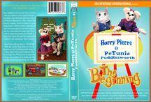 Children's DVD / The Beginning is Harry Pierre & PeTunia's first Children's DVD! Communication & Social Behavioral Skills, Academic and Art Enrichment. harrypierre.com  Kids, Children, Children's Characters,  Education, Children's Entertainment, Art, DIY, Recipes