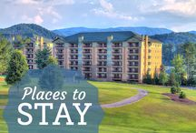 Stay in the Smokies / From comforting hotel rooms to deluxe RV camps to secluded cabin rentals, we have everything you need to find the perfect vacation rental during your next mountain getaway.