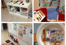 Pedagogiska miljöer / Inspirerande lärandemiljöer i förskolan