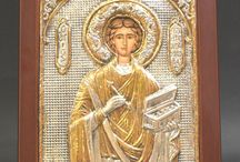 Sterling Silver.925 Byzantine Icons