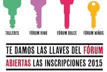 Fórum Gastronómico Coruña 2015 / El Fórum Gastronómico A Coruña 2015, que tendrá lugar en ExpoCoruña del 15 al 17 de marzo, se va a convertir en un inmejorable escaparate y en un divertido espacio de experiencias gastronómicas. Un cartel de actividades aptas para todos los públicos, adaptadas a todos los gustos, una vez más, con reconocidos chefs.