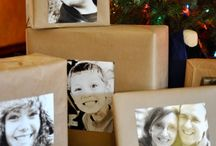 gift wrap ideas / by Dawn Frazier