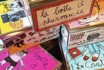100drine edition / Produits , boîtes éditées par 100drine Société d'édition