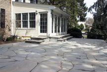 Natural Stone Projects / Explore the beauty of Natural Stone patios, pool decks, walkways, sitting and retaining wall and more...