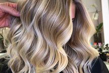 nuances e mechas cabelo
