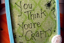 Crafty Ideas & DIY Projects / by Evelyn Breault