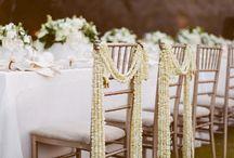 decoración sillas boda