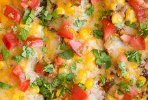 ズッキーニ レシピ Chicken+Enchilada+Zucchini+Boats