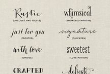 Typography Tattoo Font
