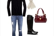 Outfits for School / Back to School. Effortless Outfits for the Day