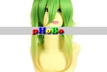 Cosplay Wigs / by Phobo Fashion