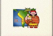 los incas infantil