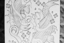 Koi Tattoo / Tattoo