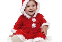 Costumes Enfants Père Noël - Mère Noël