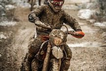 Covered with mud