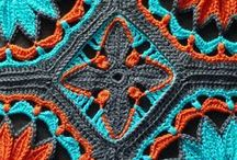 Crochet ideas, tatting , knitting and macrame / Crocheting, knitting and tatting