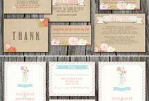 Wedding Invite Moodboard