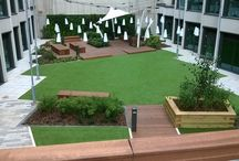 Student accommodation courtyards
