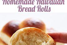 El yapımı ekmekler