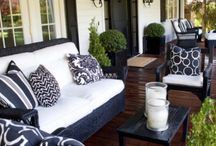Happy Home! / Ideas for my first house. Black & White. Sparkling. Fun.