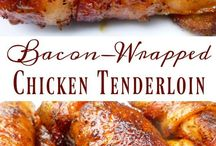 bacon brown sugar wrapped chicken tenders