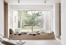 Sitzbank Fenster