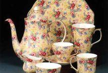 Chintz tea sets