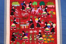 Hmong Story Cloths / The art of Hmong story cloth embroidery