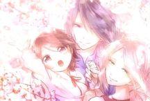 sasuke and sakura little family