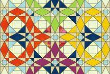 patchwork örtü