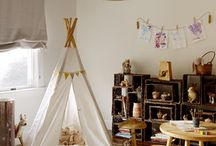 STORY TIME / indoor teepee, tipi, hut, playhouse, play house, house, tree house for kids to imagine and read stories