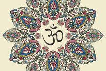 Mandalas + OM + Yin Yang = ZEN