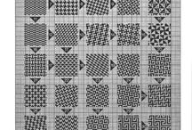 darning patterns